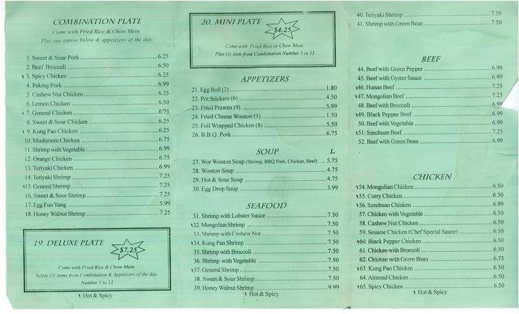 menu for maple garden red bluff ca