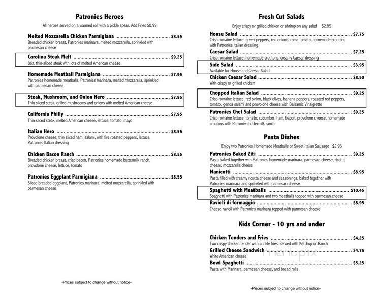 online menu of lucky chens kitchen thomasville nc
