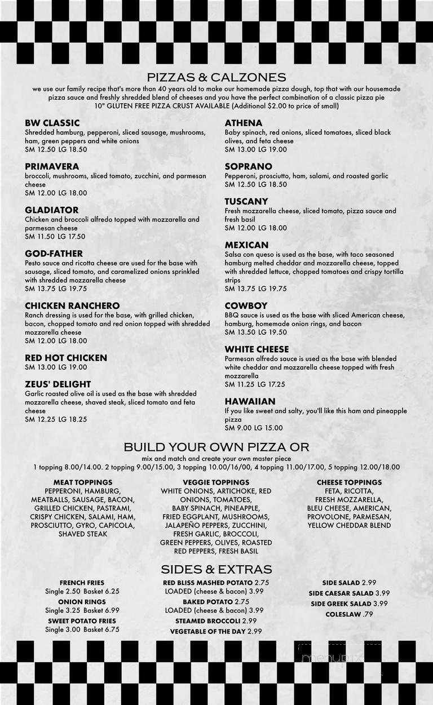 restaurant spencer ma menu
