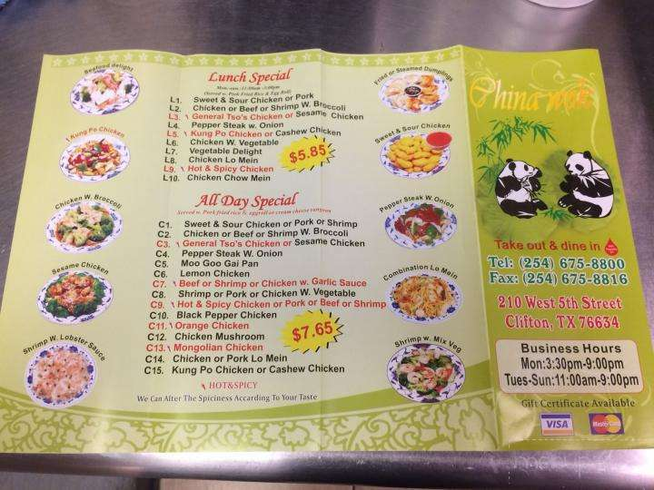 Online Menu Of Johnny S Place Clifton Tx