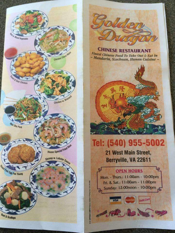 golden dragon delivery berryville