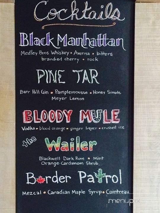 Menu Of 1157 Bar Kitchen In Baltimore Md 21230