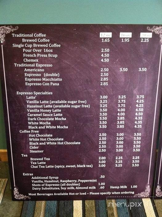 Menu of Fairway Coffee in Vancouver, WA 98662