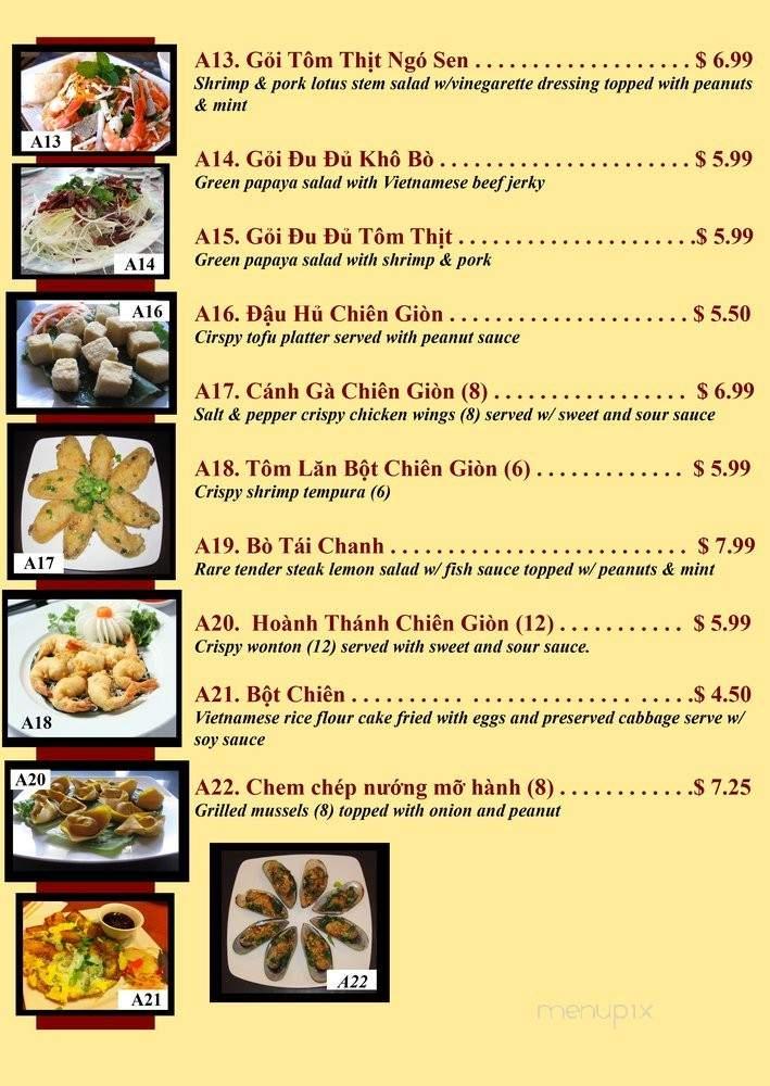 Online Menu Of Lotus Restaurant San Bernardino Ca