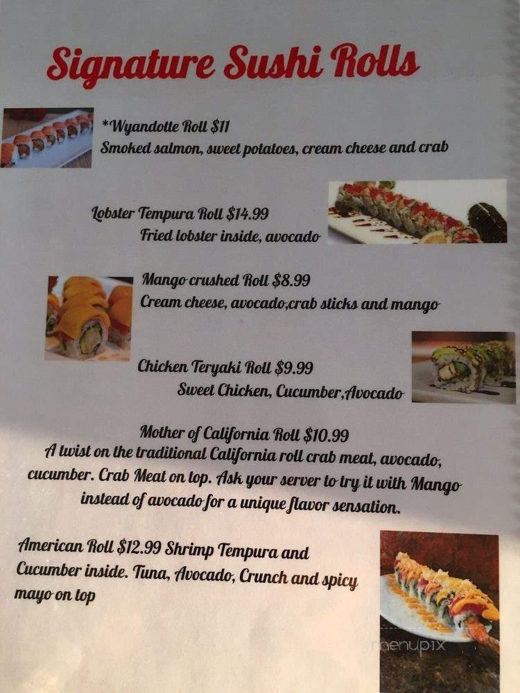 Menu Of Kome Sushi Bar In Wyandotte, MI 48192