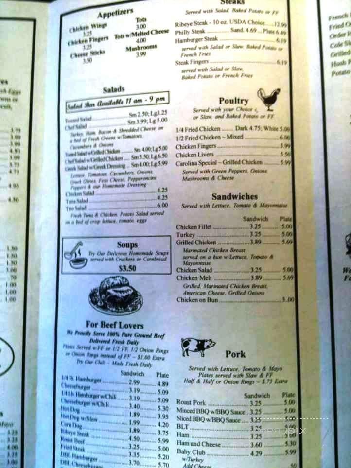 Southern Phone Reviews >> Menu of Carolina Fine Foods in Simpsonville, SC 29681