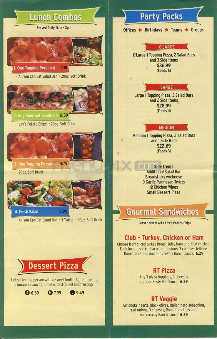Round Table Pizza Portland Oregon.Online Menu Of Round Table Pizza Corning Ca