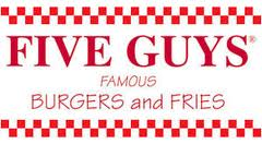 Five Guys Burgers and Fries - Pigeon Forge, TN