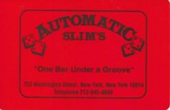 Automatic Slim's - New York, NY