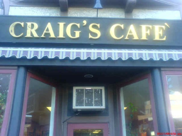 Craig's Cafe photo