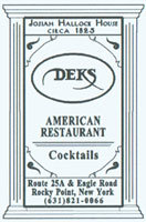 Deks American Restaurant photo