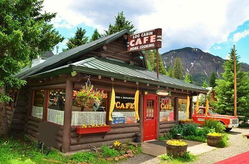 Log Cabin Cafe Bed and Breakfast photo