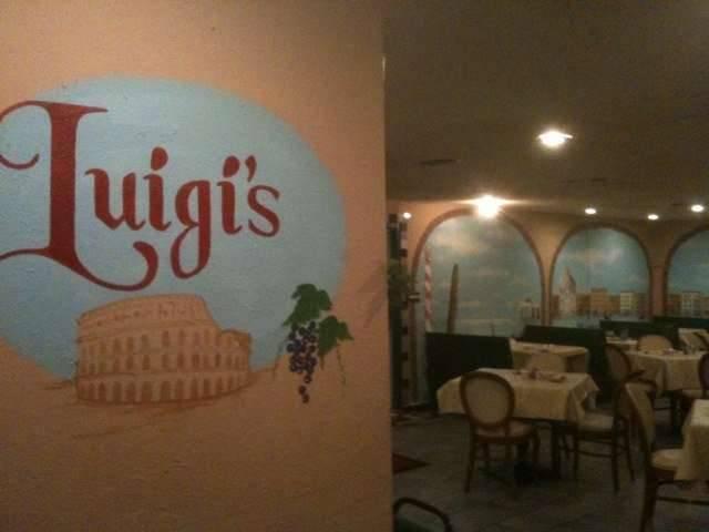 Online Menu Of Luigi S Italian Restaurant Gainesville Tx