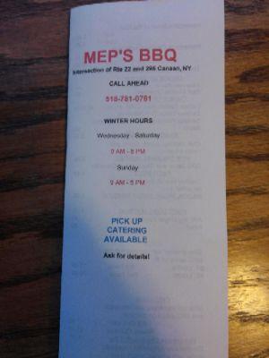 Mep's BBQ photo