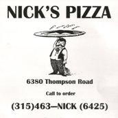 Nicks Pizza - Small User Photo