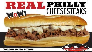 Wit Or Witout Philly Cheesesteaks photo
