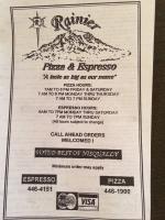 Rainier Pizza & Espresso photo