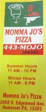 Momma Jo's Pizza - Small User Photo