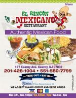 El Rincon Mexicano Restaurant Deli - Kearny, NJ